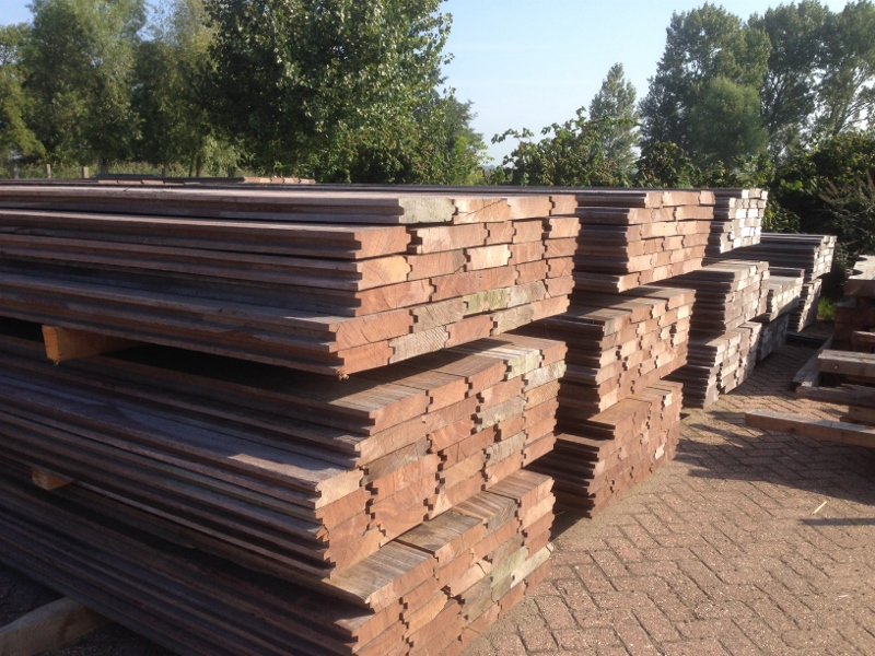 hout grote foto